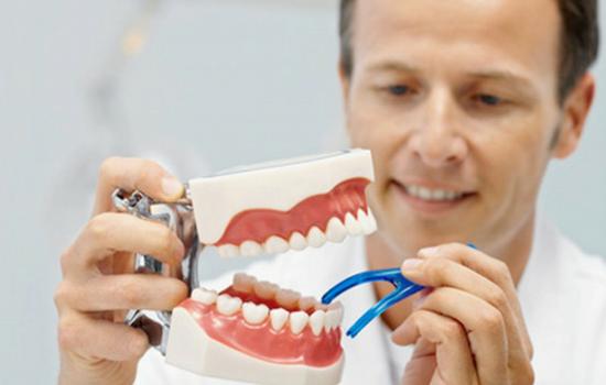 sala para fabricação de próteses dentárias